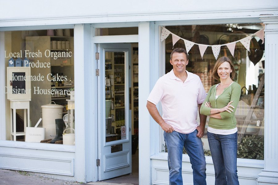 business insurance storefront - Welcome